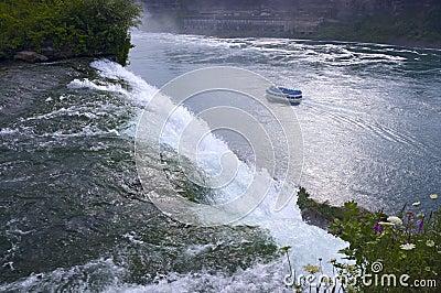 Atop American Falls at Niagara