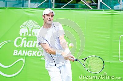ATP Challenger Chang - SAT Bangkok Open 2013 Editorial Image