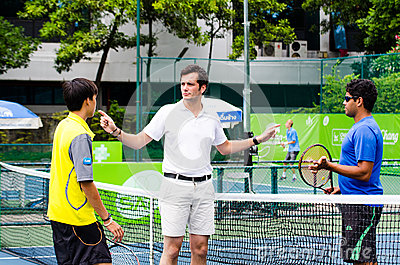 ATP Challenger Chang - SAT Bangkok Open 2013 Editorial Photography