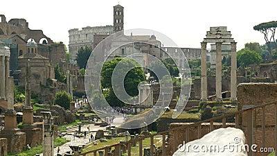 Atrações Roma vídeos de arquivo