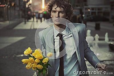 Atrakcyjny facet