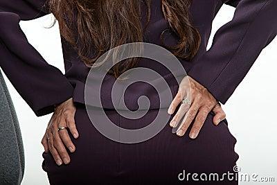 Atrakcyjnych forties azjatykcia biznesowa kobieta