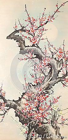 Atramentu chiński obraz