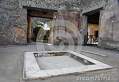 Atrium Pompeii
