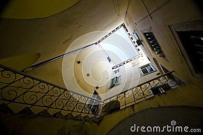 Atrium in Sibenik