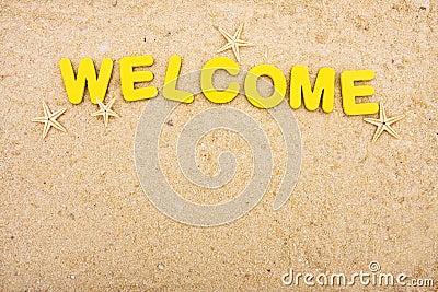 Att att semestra välkomnande