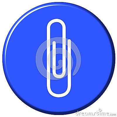 Attach Button Stock Photos Image 3053683
