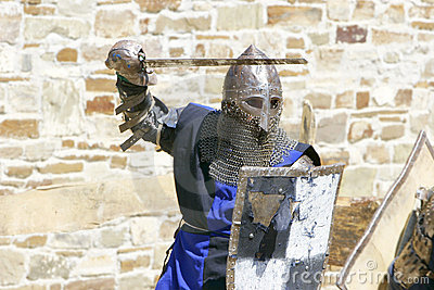 Attacking knight