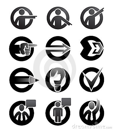 Attention symbols