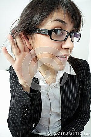 Free Attentive Listener Stock Photo - 20461140