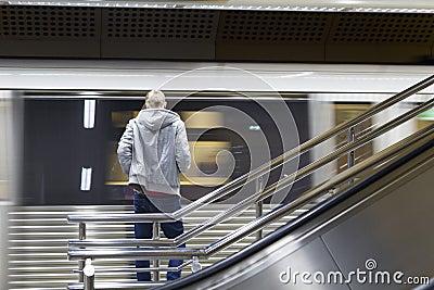 Attesa del treno