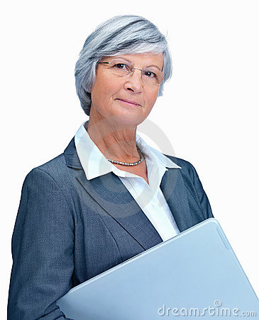 Attitude - Portrait of a mature business woman