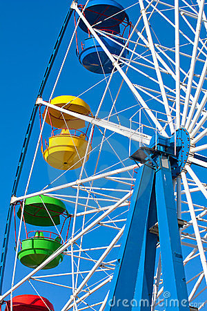 Attraction Ferris wheel