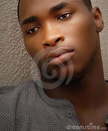 Attractive African American Man
