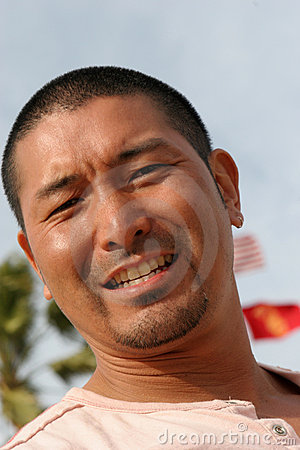 Attractive Asian Man