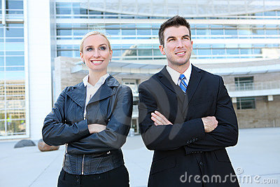 Attractive Business Team