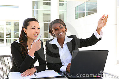 Attractive Business Women