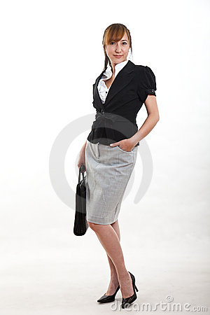 Attractive chinese forties businesswoman