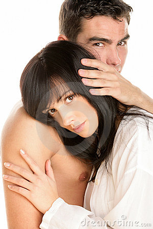 Free Attractive Couple Hugging Stock Photo - 12603710