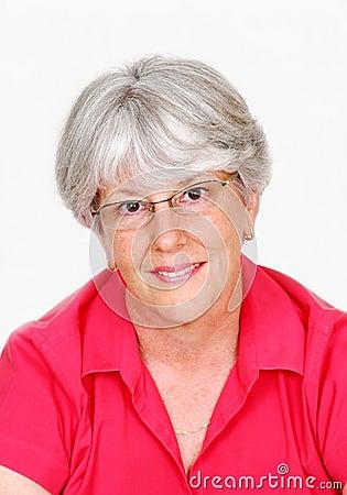 Attractive Female Senior Citizen