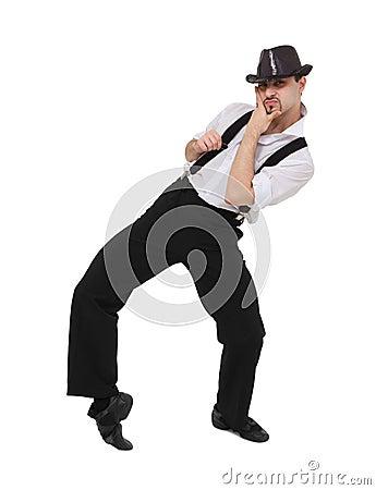 Free Attractive Gentleman Dancing Stock Images - 17252434