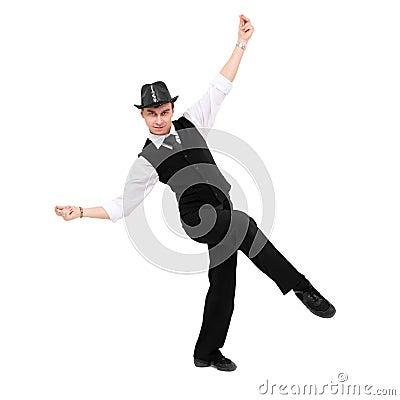 Free Attractive Gentleman Dancing Royalty Free Stock Photos - 17293688