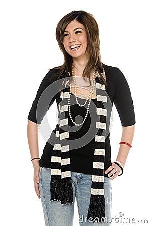 Free Attractive Girl Next Door Stock Images - 10670584