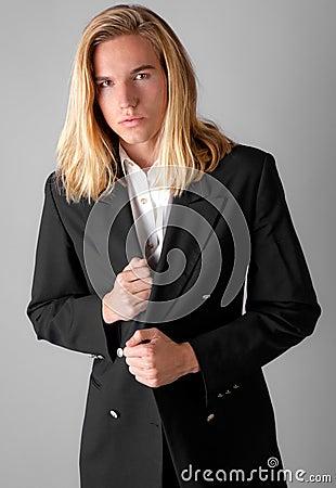 Attractive Guy in Blazer
