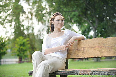 Attractive Healthy Asian Woman