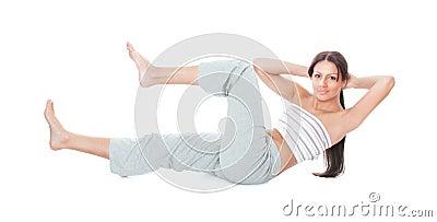 Gymnastics woman
