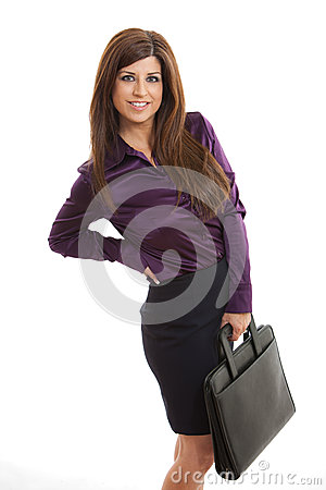 Attractive hispanic woman in her forties