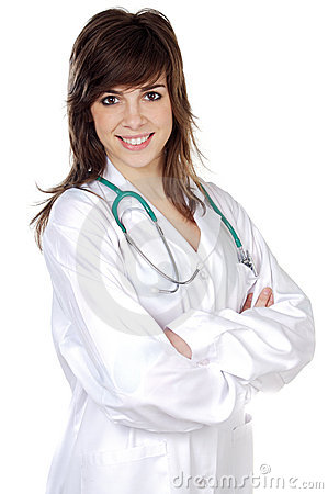 Free Attractive Lady Doctor Royalty Free Stock Photography - 2080447