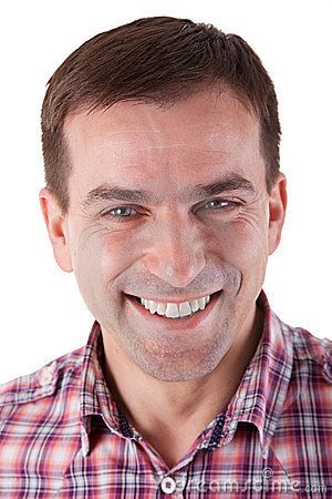 Attractive Man Smiling