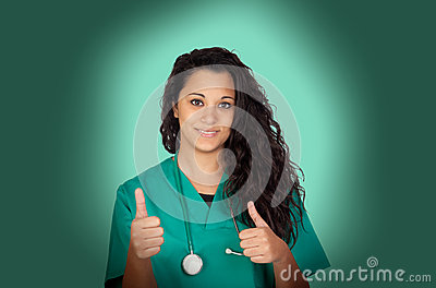 Attractive medical with a radiography