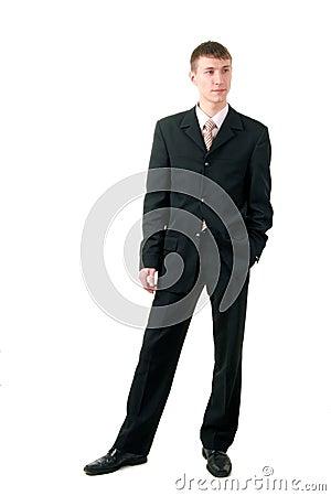 Attractive men in formal wear