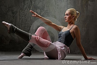 Attractive modern dancer.
