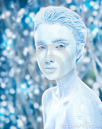 Free Attractive Naked Covered In Ice Woman, Cold Effect Royalty Free Stock Photo - 89708215