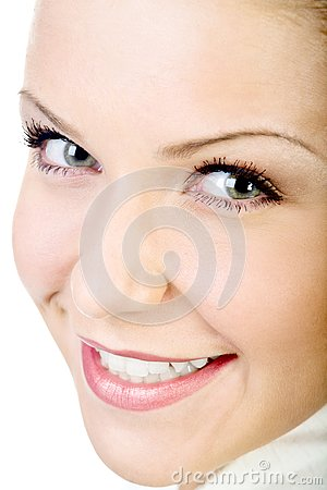 Attractive natural woman face i