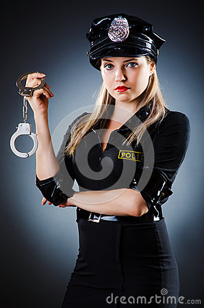 Attractive police