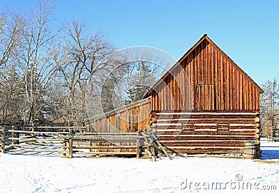 Attractive restored barn