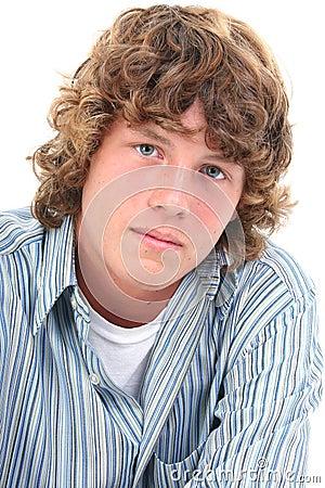 Free Attractive Sixteen Year Old Teen Boy Stock Photo - 193100