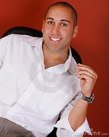 Attractive Smiling Man