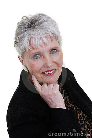 Attractive woman over 60