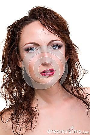 Attractive woman portrait