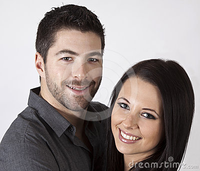 Attractive young couple.