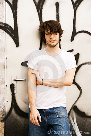 Free Attractive Young Man Royalty Free Stock Photography - 5937767