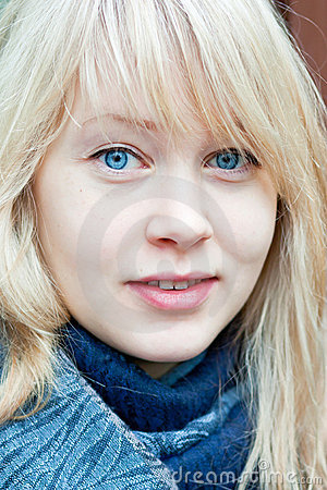 Attractive young woman from Finland