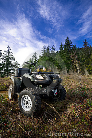 Free ATV In The Mountains Royalty Free Stock Photography - 13064417