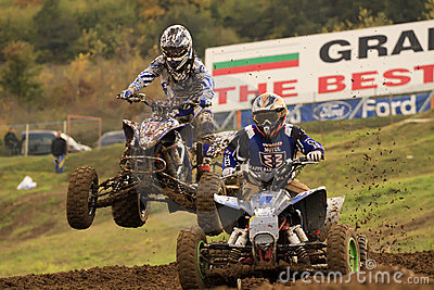 ATV,MOTOCROSS RACE - SEVLIEVO Editorial Stock Photo