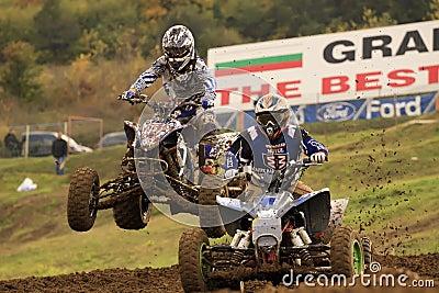 ATV,MOTOCROSS RACE - SEVLIEVO Editorial Stock Photo